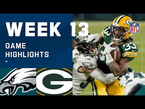 Eagles vs. Packers Week 13 Highlights | NFL 2020