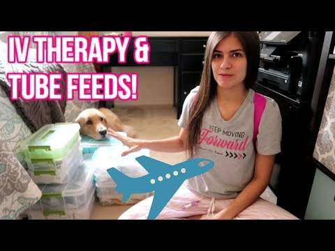 ✈ Medical Supplies & Airplane Trips: Packing/Travel Tips! 💼 (4/8/18)