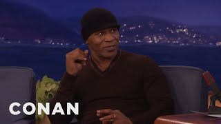Mike Tyson's Phone Call With Muhammad Ali - CONAN on TBS