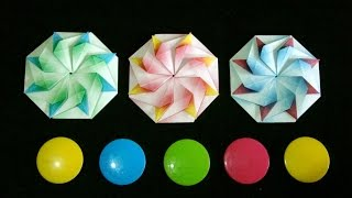 Origami Maniacs 211: Octagonal Coaster