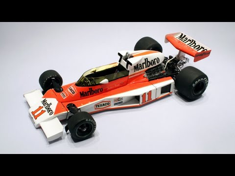 Building the 1:20 Tamiya McLaren M23 - 1976 World Champion F1 ...