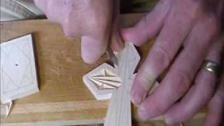 My Chip Carving - 123, Chip Carving A Simple Cross