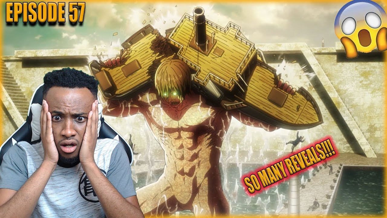 SO MANY REVEALS!! ATTACK ON TITANS SEASON 3 PART 2 EPISODE ...
