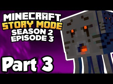 Minecraft: Story Mode Season 2 [Episode 3] Part 3 - ESCAPING THE JAIL!!! (Full Gameplay)