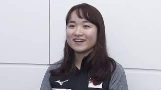 伊藤美誠 オーストリアOP 出国インタビュー
