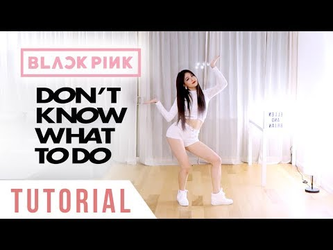 BLACKPINK - 'Don't Know What To Do' Dance Tutorial (Explanation + Mirrored) | Ellen and Brian