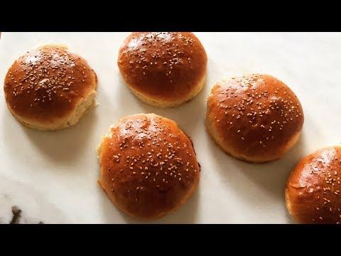 Amazing brioche burger buns recipe| Pains burgers briochés
