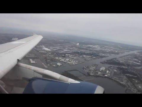 *Rough landing* TAROM A310 Bucharest - Amsterdam