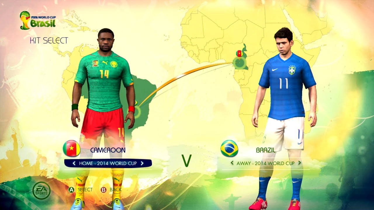 finest selection 5e43f 75564 Cameroon v Brazil: World Cup simulator
