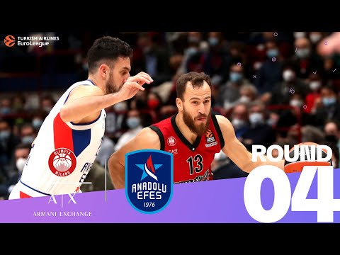 Milan downs Efes to stay unbeaten | Round 4, Highlights | Turkish Airlines EuroLeague