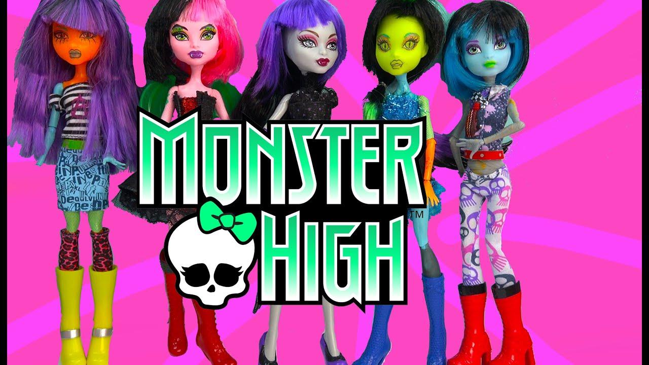 Dress up mix monster high fashion