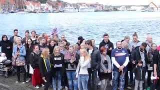 Schrei nach Liebe - Flashmob in Flensburg