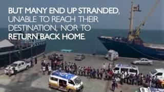 IOM Yemen's Migrant Response Centre in Hodeidah