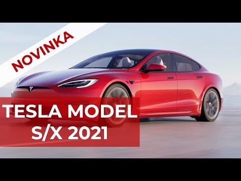 NOVÉ! Tesla Model S/X 2021 !!! | WWW.TESLACEK.TV