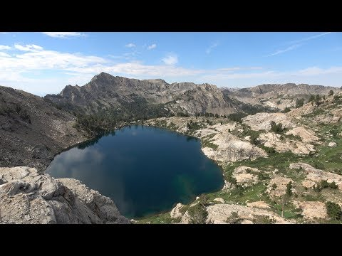 Ruby Mountains, Liberty Lake, Backpack & Fishing Trip in the , NV, July 2018, 4K