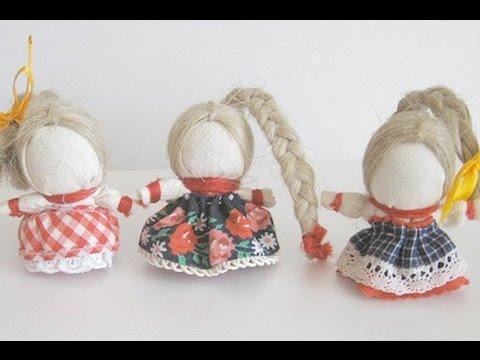 Как сделать куклу на счастье своими руками? Вытворяшки