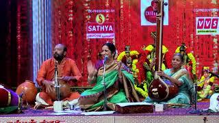 Aruna Sairam at Chennaiyil Thiruvaiyaru Festival 2017  - Vishmakara  Kannan