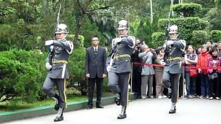慈湖衛兵交接3-1--金雞獨立,20100416