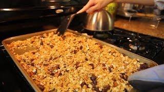 How To Make Homemade Granola And Recipe!