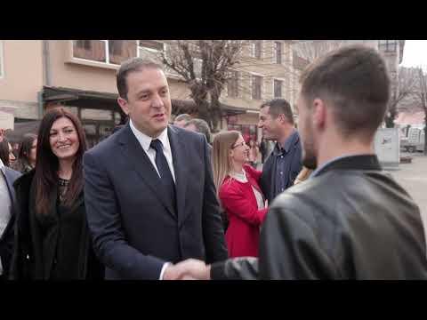 BERANE POBJEĐUJE - Milo Đukanovic DPS, SD, BS Video 2