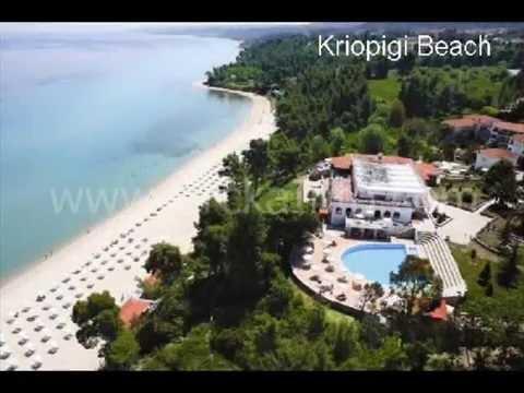 Najlepse Plaze Kasandra Halkidiki Www Grckainfo Com Youtube
