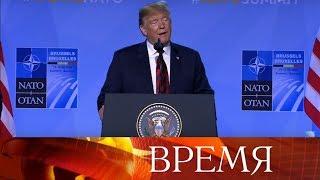 США заставляют Европу раскошелиться: новые громкие заявления Дональда Трампа на саммите НАТО.