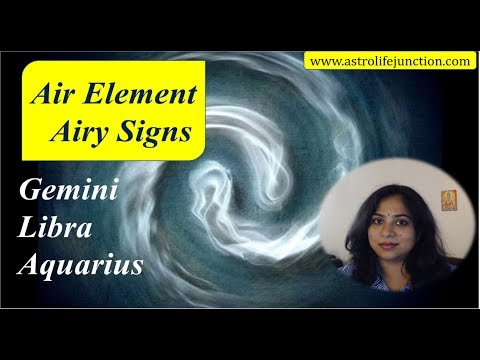 AIR ELEMENT / AIRY SIGNS - GEMINI, LIBRA, AQUARIUS / Remedies