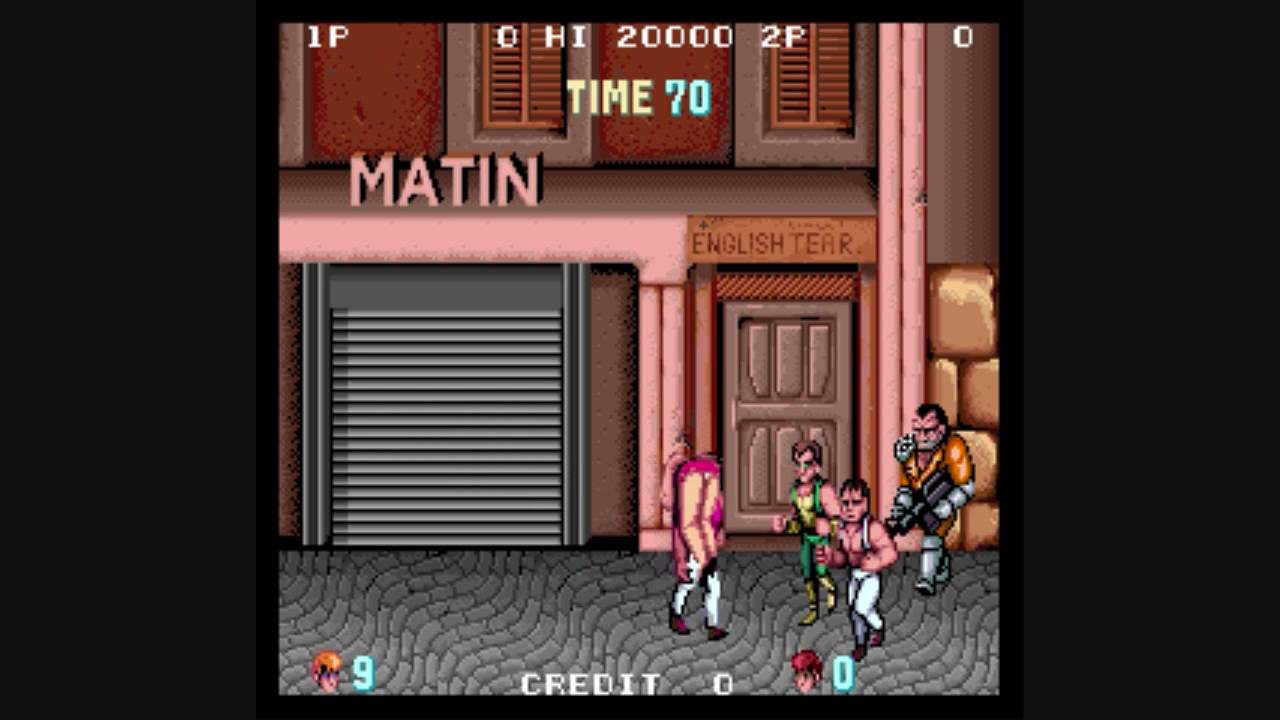 Double Dragon Review Arcade Vc Youtube