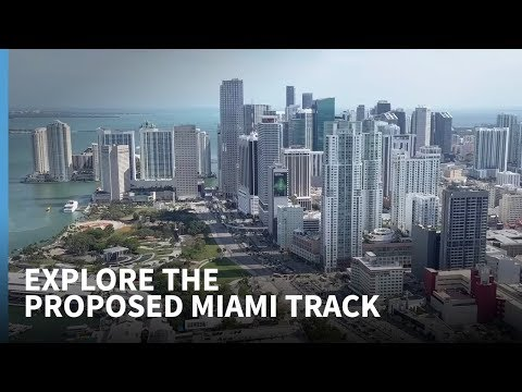 Explore the proposed new Miami F1 track