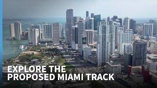 Explore the proposed new Miami F1 track
