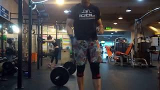 30 power squot snatches 60kg