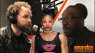 Booker T Asks Sam Roberts About Bianca Belair Comments