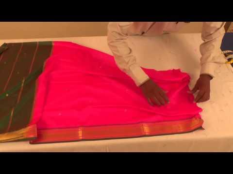 Baby Nauwari Sari Marathi