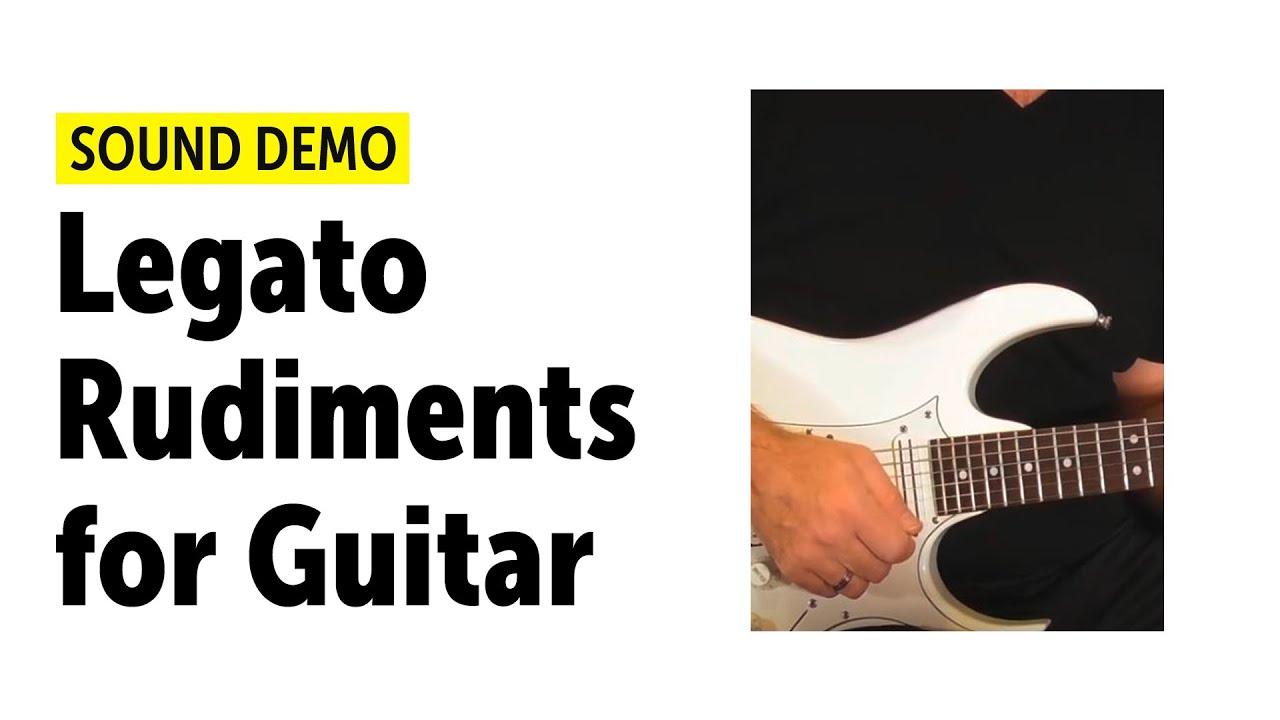 Legato Rudiments for Guitar - YouTube