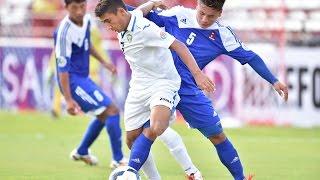 Uzbekistan vs Nepal: AFC U-16 Championship 2014