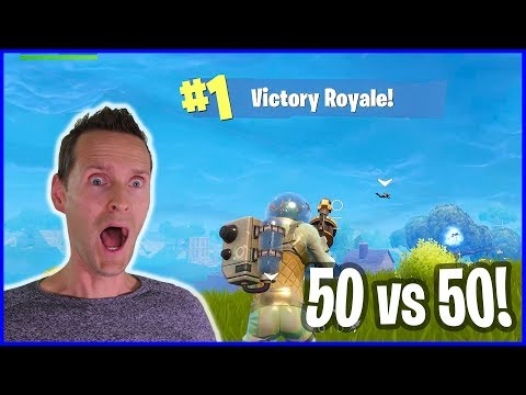 Victory Royale is so EASY in 50 vs 50!