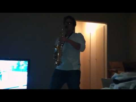 Tribute to epic sax guy
