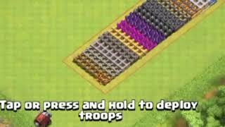 LEVEL 1 WALL WRECKER VS ALL LEVEL WALLS | CLASH OF CLANS
