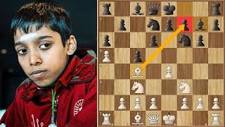 Unbelievable | Praggnanandhaa Misses a WIN on Move 8!