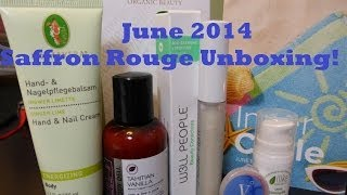 Saffron Rouge Inner Circle - June 2014 Unboxing! - CANCELLING My Subscription Thumbnail