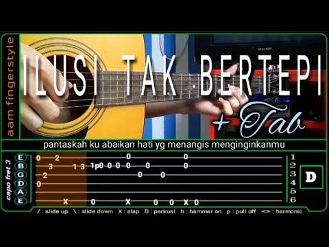Ilusi Tak Bertepi (hijau Daun) Cover - Guitar Fingerstyle   TAB