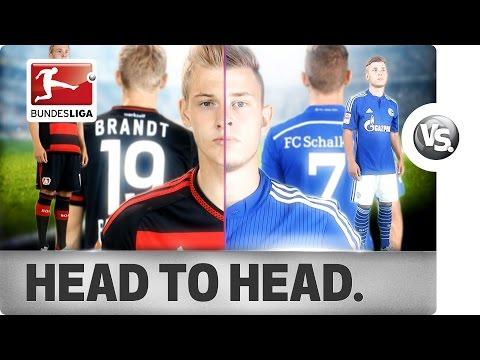 Julian Brandt vs. Max Meyer - Top German Talents Go Head-to-Head