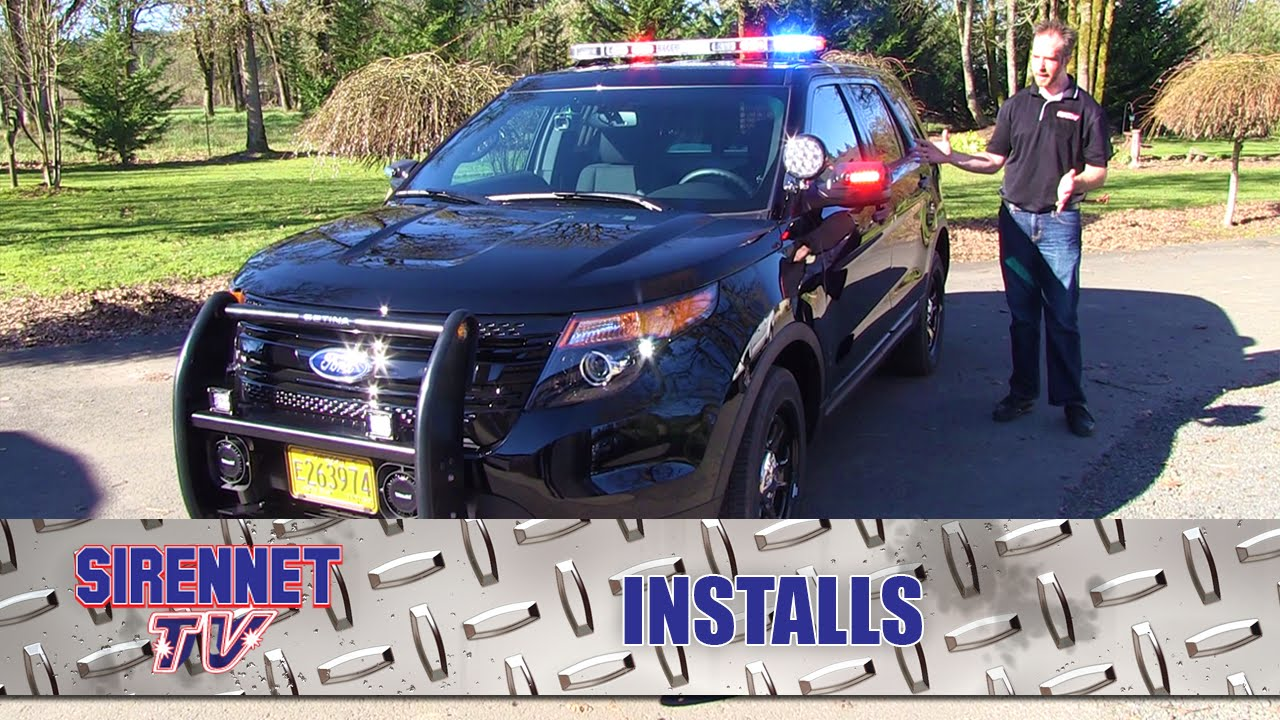 2015 Ford Utility Interceptor Police Package Installation Youtube Wiring Harness Kits