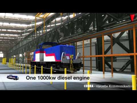"ALSTOM Hybrid Locomotive ""H3"""