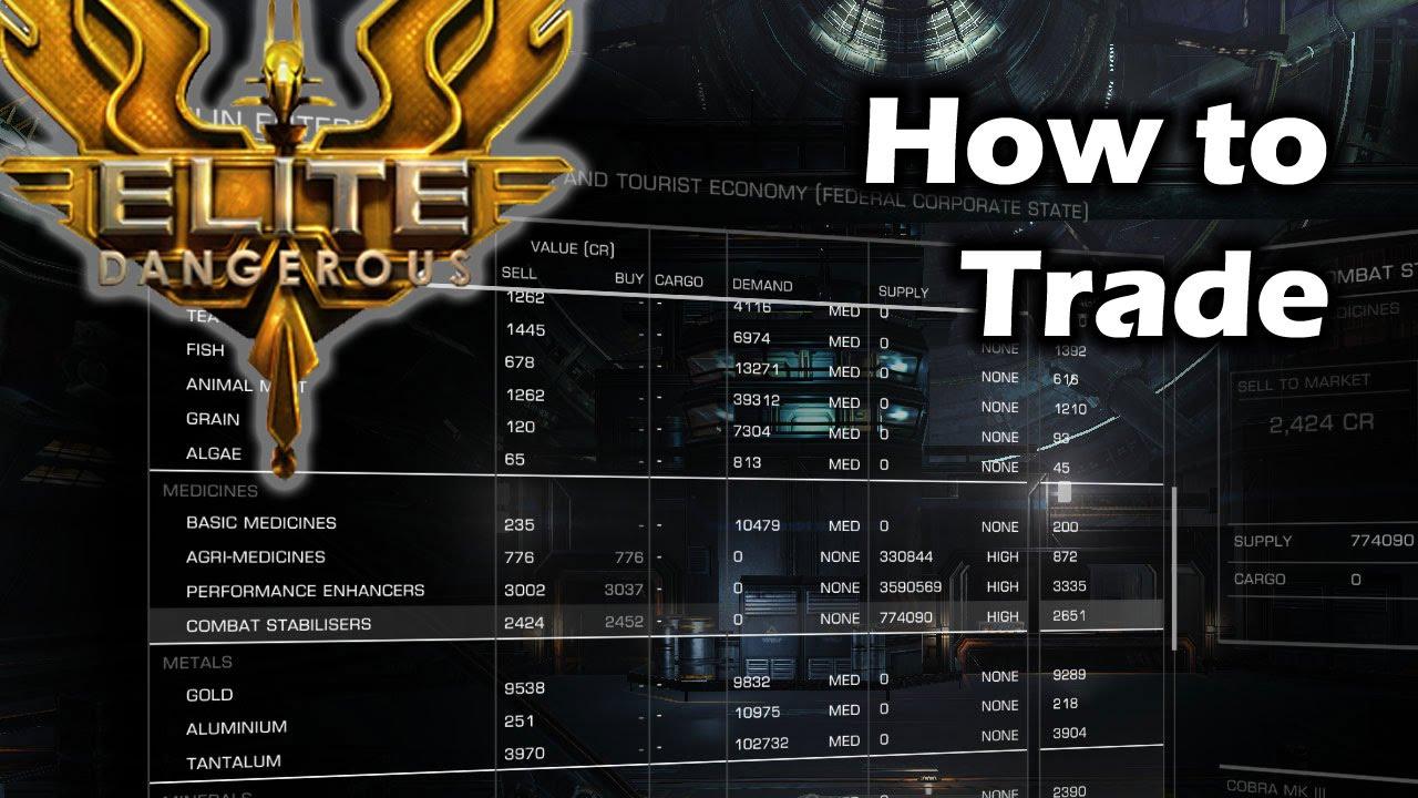Elite Dangerous : Trading Guide