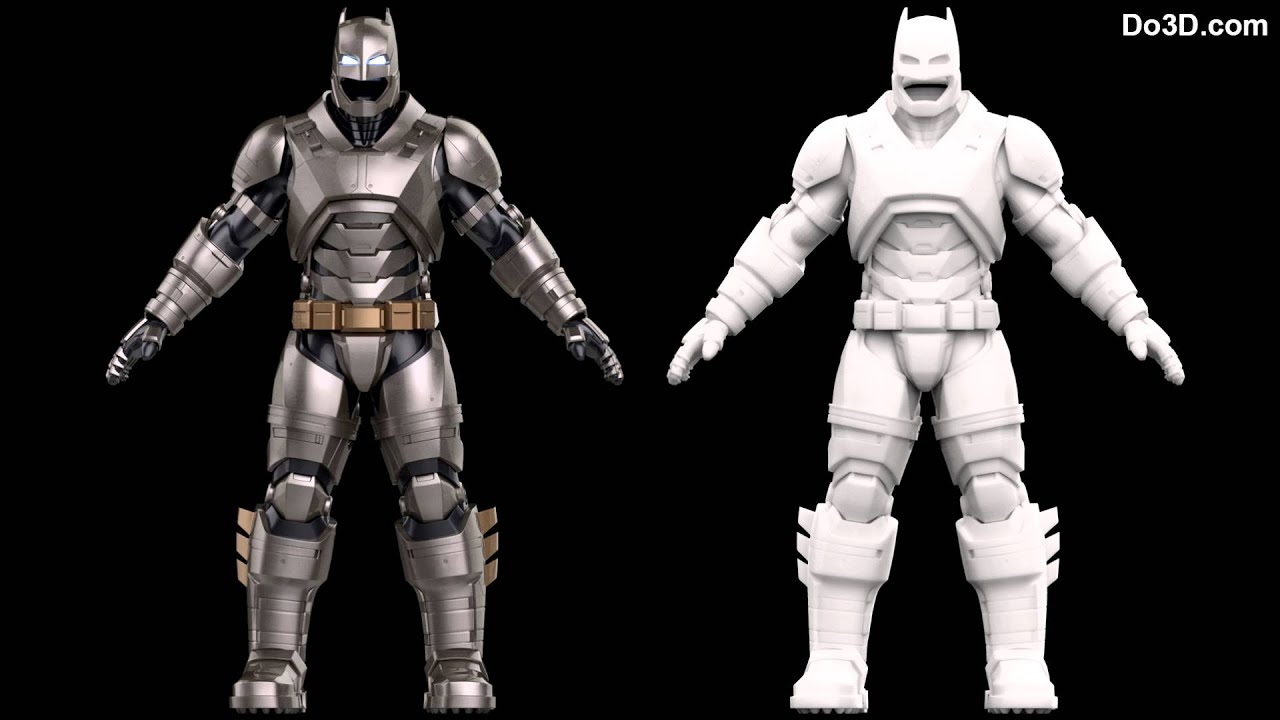 3D printable model of Batsuit (armor / costume / prop ...
