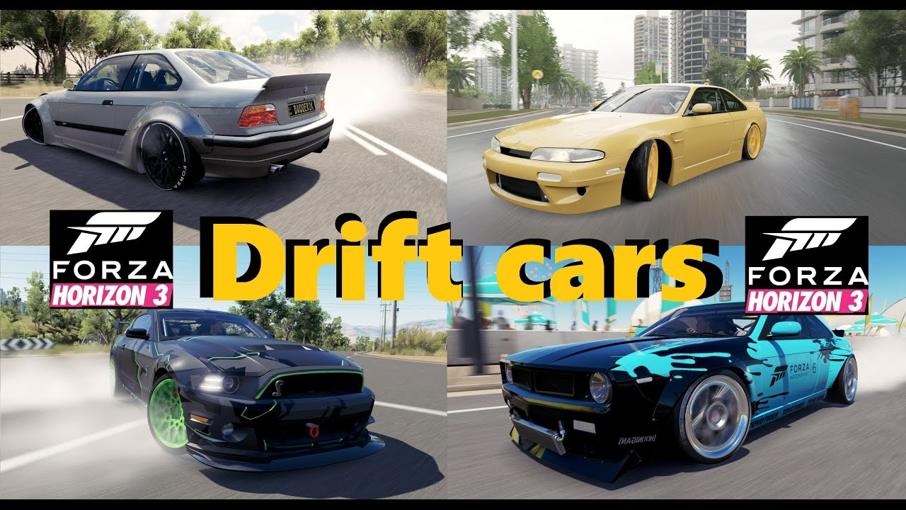 Forza Horizon Best Drift Cars Test Youtube