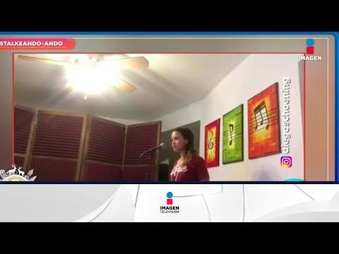 ¡Hija de Diego Schoening sorprende con espectacular voz!   Sale el Sol