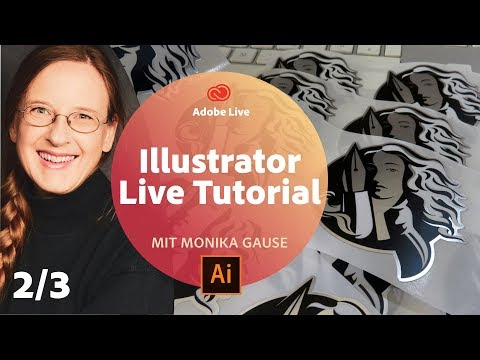 Illustrator Live Tutorial / mit Monika Gause - Adobe Live 2/3 thumbnail