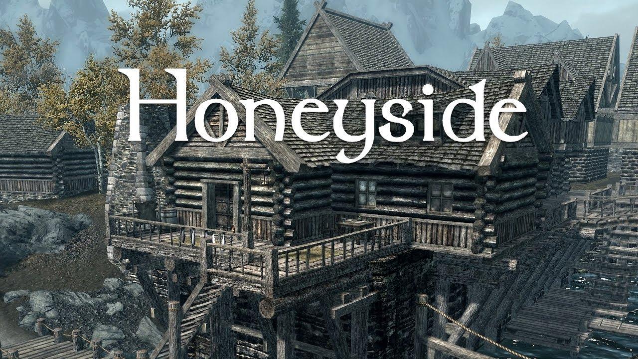 Player Homes Of Skyrim. Honeyside, Riften - YouTube